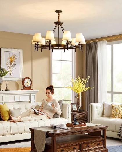 月影家居好物推荐,为你打造一个美式风格的客厅
