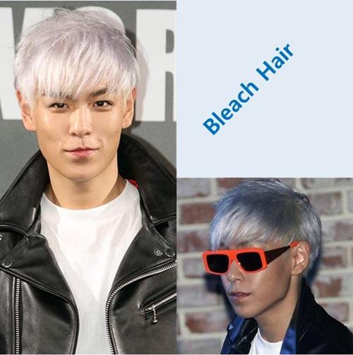 p曾将头发漂白,演绎出带有紫色,绿色等光泽的发型,给人留下了深刻印象图片
